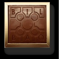 Chocolate Baldosa de Bilbao frontal