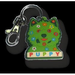 Llavero funda llave Puppy cara