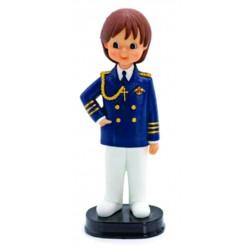 Figura tarta niño comunión almirante