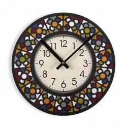 Reloj Baldosa de Bilbao colores
