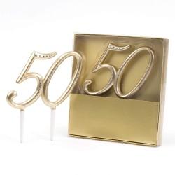 Números Tarta 50...