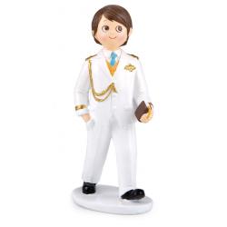 Figura comunión almirante blanco